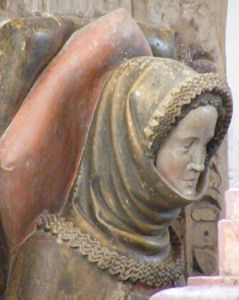 Frau von Oettingen 1358  Germany Kirchheim am Ries