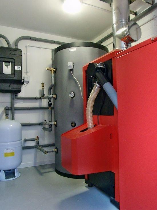 Biomass Wood Pellet Boiler Installation