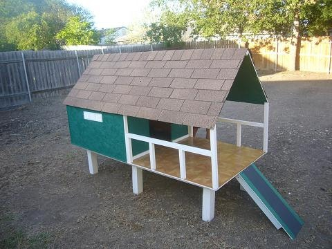 Custom Rustic Cabin & Beach style Dog House