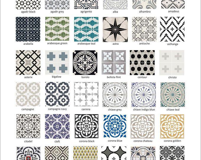 Tile Decals Tiles For Kitchen Bathroom Back Splash Floor