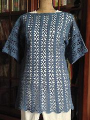 Crochet Clothing Downloads - Cat Tails Tunic