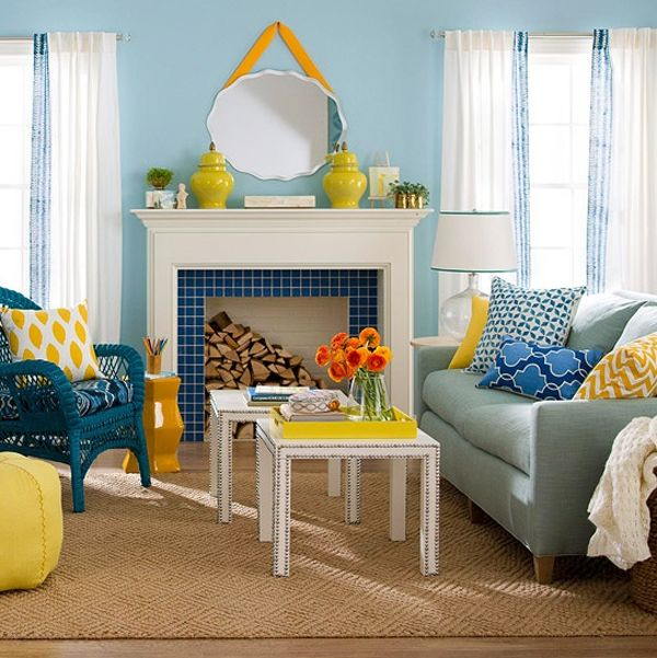 Blue And Yellow Always Seem To Complement Each Other