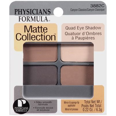 physicians formula matte collection quad eye shadow canyon classics - Google Search
