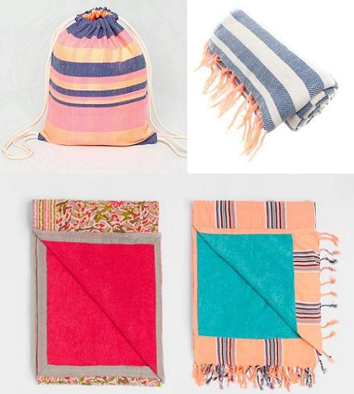 Nueva tendencia toallas estilo pareo
