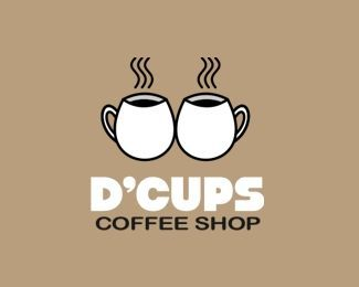 D Cups - great name for a coffee shop