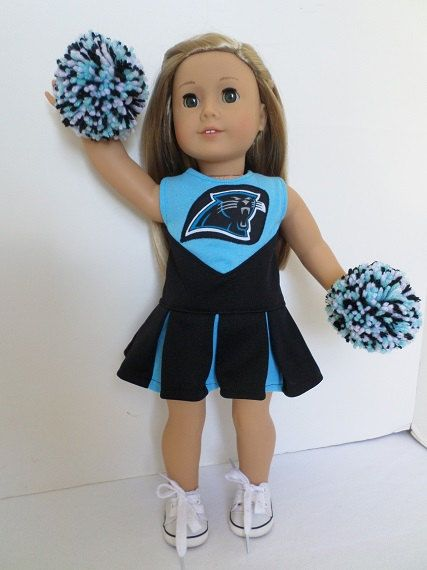 Carolina Panthers Cheerleader Pom Poms Shoes for American