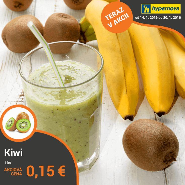 Po náročnom pracovnom dni, či po športovom výkone vám silu najrýchlejšie vráti a zároveň podporí látkovú výmenu skvelá kombinácia kiwi s banánom. Pripravte si ho už dnes: http://bit.ly/smoothie_banan_kiwi