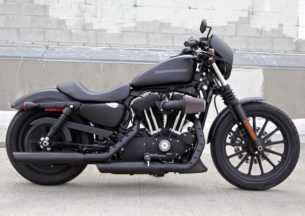 Blacked Out Harley Iron 883 My DREAM bike <3 <3 <3