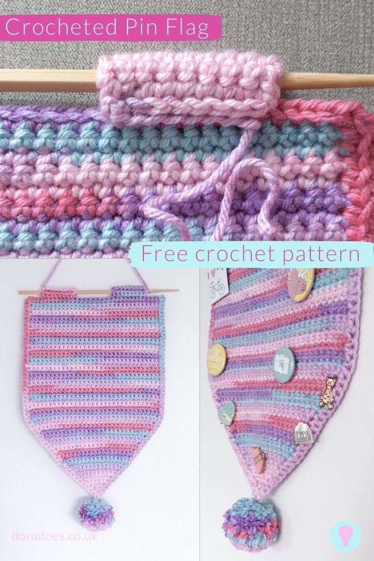 Get Your Pin On Crochet A Pin Banner In 2020 Crochet Patterns Free Crochet Pattern Free Crochet