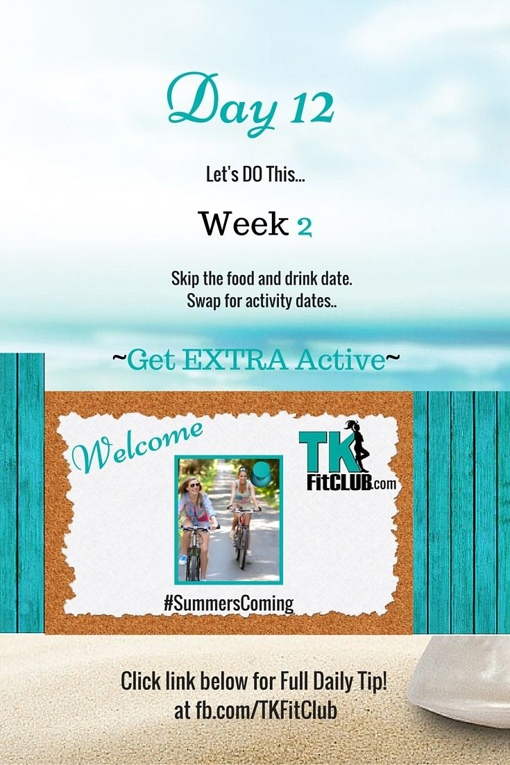Get Extra #Activity TKFitClub Bikini Ready Countdown.#SummersComing #Accountability #fitfam #getfit #weightloss #Challenge #nutrition #eatclean #workouts