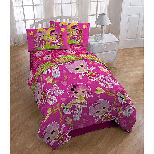 Lalaloopsy Twin Bedding Tote Bag Set   5pc Gingham Hearts Comforter Sheets. 17 Best images about Nickelodeon Room Decor on Pinterest   Twin