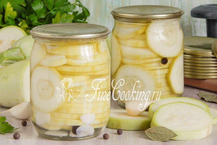 Маринованные кабачки на зиму - рецепт с фото