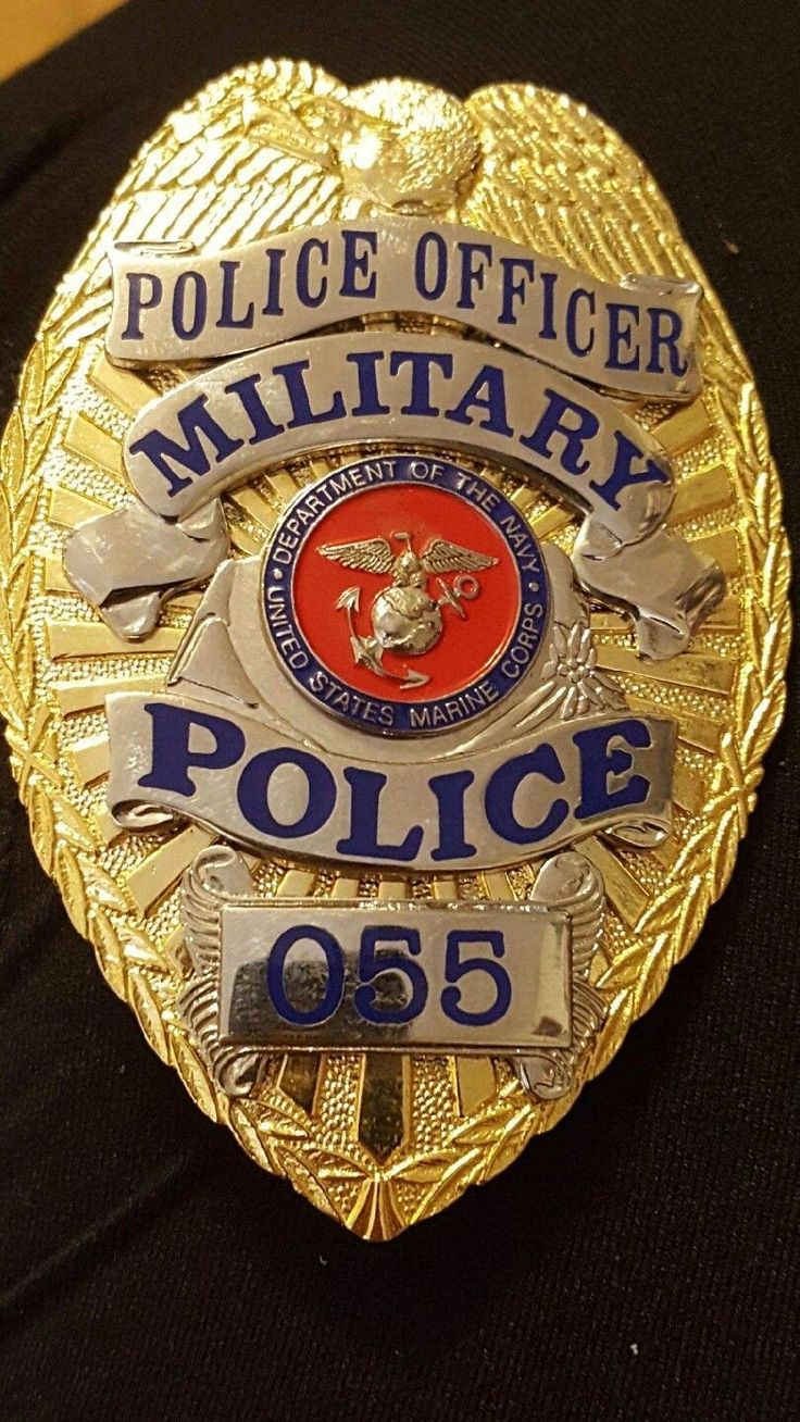 Police Officer, Military Police, U.S.Marine Corps Department of the Navy