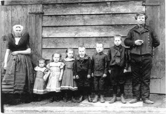 Balkenende, Cornelis met gezin.