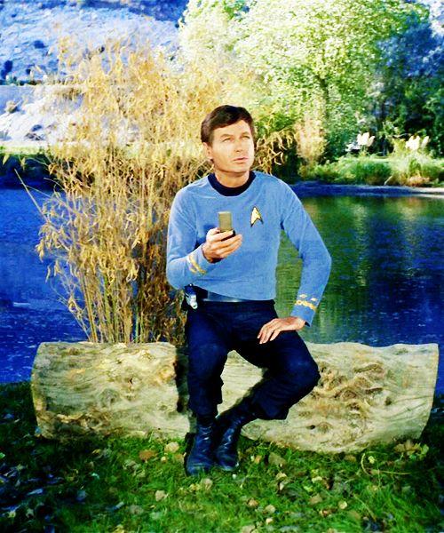 One of the best Star Trek TOS Bones-episodes ever. He is SO adorable in it.