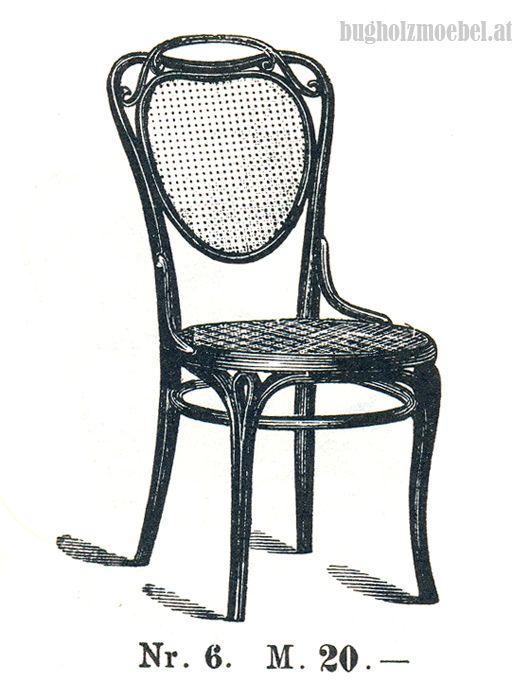 Thonet Nr. 6, catálogo 1888