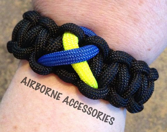 Down Syndrome Awareness  blue and yellow by AirborneAccessories