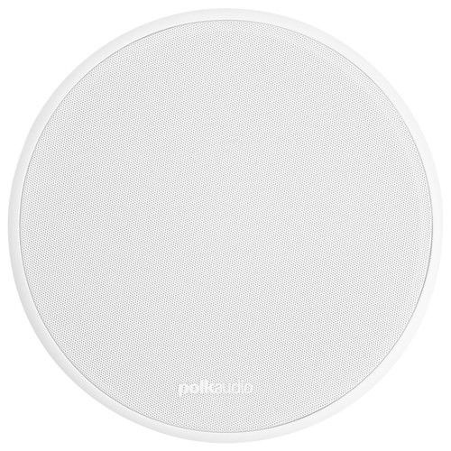 "Polk Audio - Vanishing Series RT 7"" 3-Way In-Ceiling Speaker (Each) - White - Larger Front"