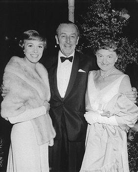 """Saving Mr. Banks"" starring Tom Hanks as Walt Disney | Julie Andrews, Walt Disney and P.L. Travers"