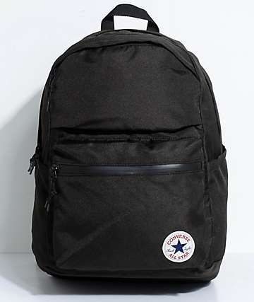 Converse Chuck Poly 1.0 Black Backpack  7dc98f5d4c4bb