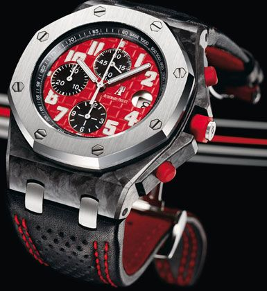 Audemars Piguet Royal Oak Offshore Chronograph Special Edition to Mark the 2008 Singapore Grand Prix.