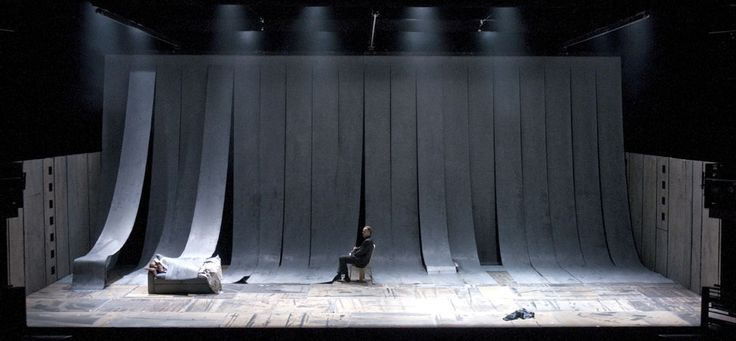 Palle Steen Christensen, set designer / Crime and Punishment (Royal Theatre Copenhagen 2010)