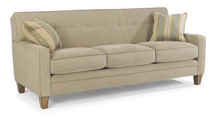 Flexsteel Furniture: Fabric Sofas: RachaelFabric Sofa (5663-31) 35x83x36