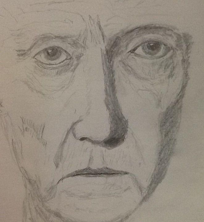 Christopher Walken, my sketch