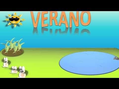 LAS ESTACIONES DEL AÑO PARA NIÑOS, THE SEASONS IN SPANISH (VIDEO INFANTIL) HD