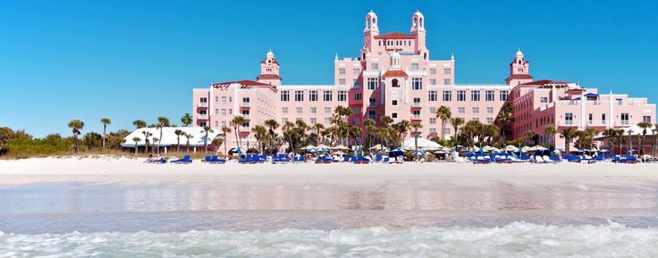Don CeSar Beach Hotel: An historic landmark, sugar-sand beaches, Spa Oceana, poolside activities and Four-Diamond dining await visitors who return season after season. The Best Has Gotten Even Better. 3400 Gulf Blvd. St. Pete Beach, Florida, 33706  Phone: (727) 360-1881  Reservations: (800) 282-1116  Fax: (727) 363-5034