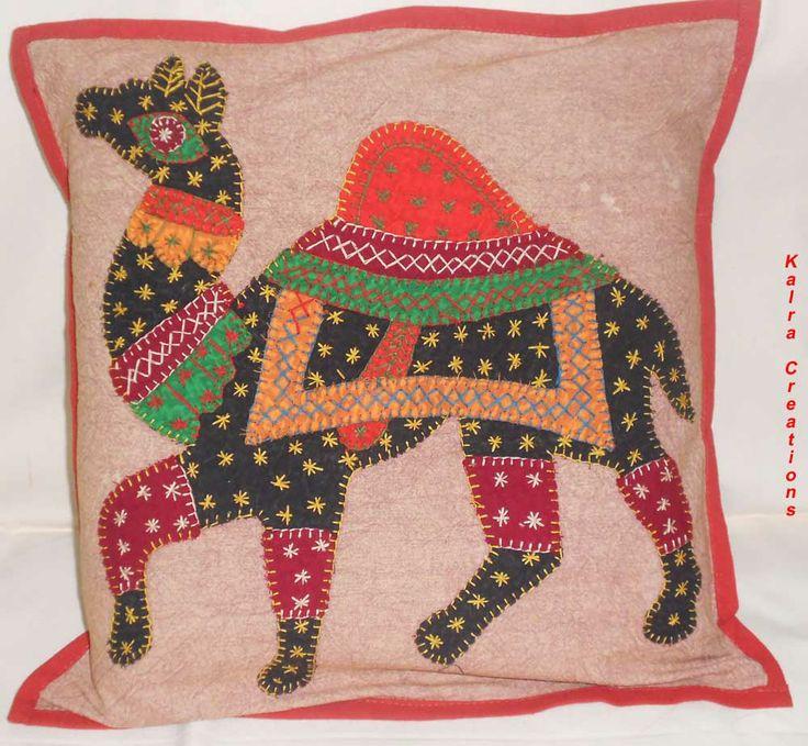 #Nice #Ethnic #Camel #Patchwork #Cushion #Cover #set  http://kalracreations.com/home-furnishing/cushion-covers/ethenic-patchwork-cushion-cover-set.html