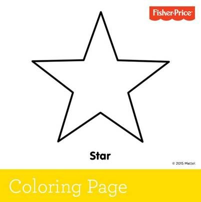 Talk About The Stars In Sky As Your Little One Decorates This Fisher Price Coloring Page