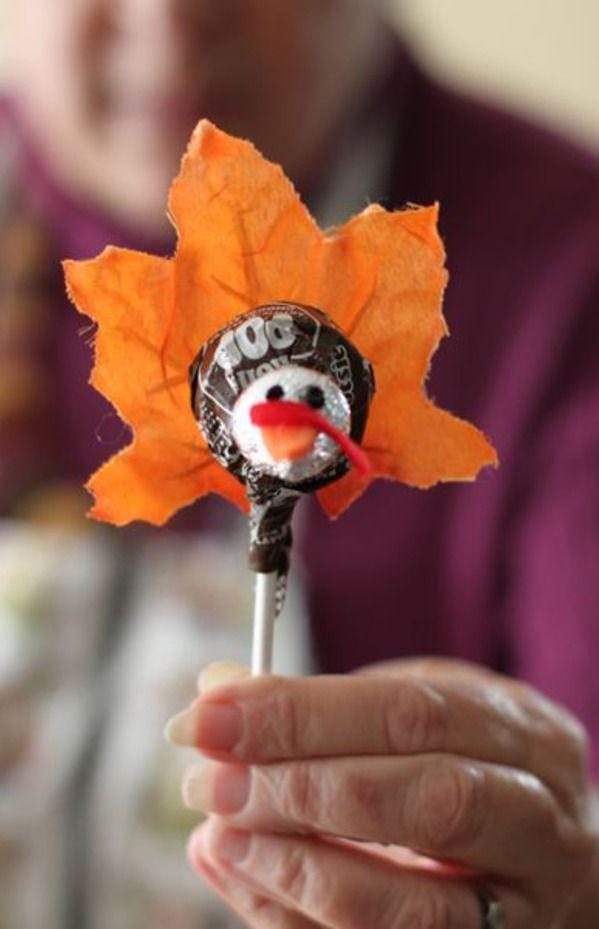 Party Frosting: Thanksgiving: Turkeys!