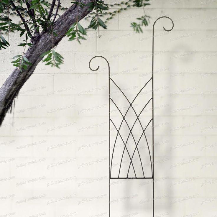 les 25 meilleures id es de la cat gorie support plante grimpante sur pinterest treillis de. Black Bedroom Furniture Sets. Home Design Ideas