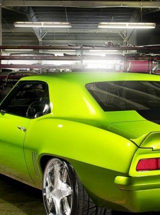 verde Chevrolet Coupe Fondos de coches viejos | Fondos para iPhone