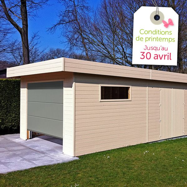 11 best Garage et carport en bois images on Pinterest Garage