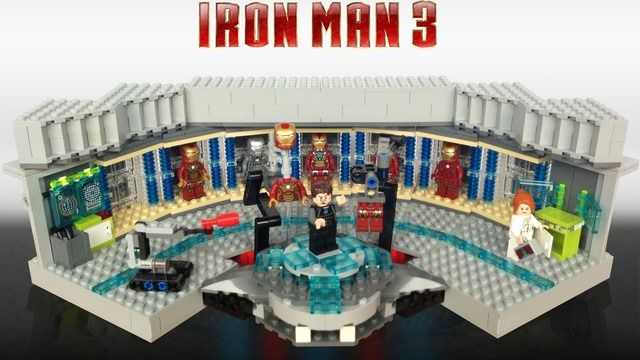 Iron Man 3 Hall Of Armour Support And Make This A Lego