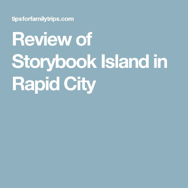 Review of Storybook Island in Rapid City
