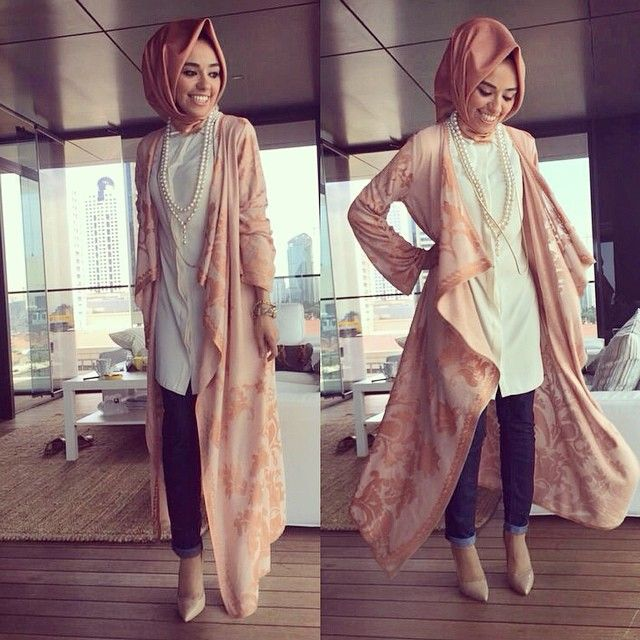 A twist to the #casual #muslimah #outfit