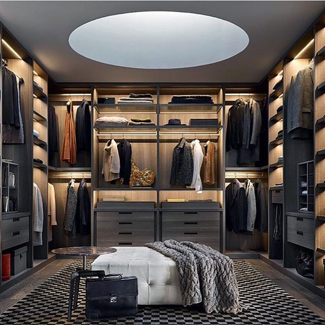 Who Needs To Get Dressed When You Can Look Sexy Just Standing In This Closet Wardrobe Interior DesignModern