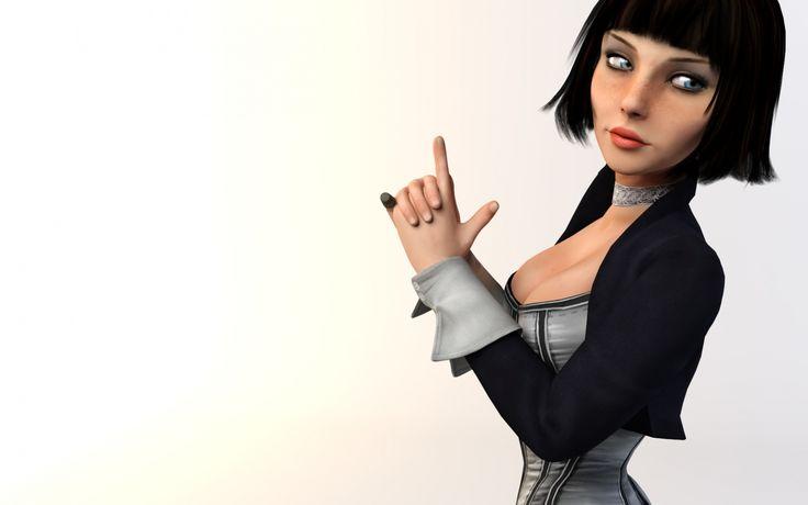 Скачать обои Bioshock Infinite, Irrational games, Элизабет, раздел игры в разрешении 1920x1080
