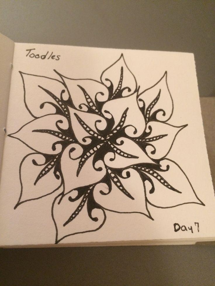 | Zentangle | Zenart | Zendoodle | the100dayproject | I Teach Tangling | Tangling | Toodles |