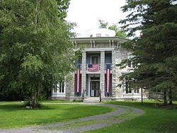 Yale-Cady octagon house - 7550 n. main, newport, ny