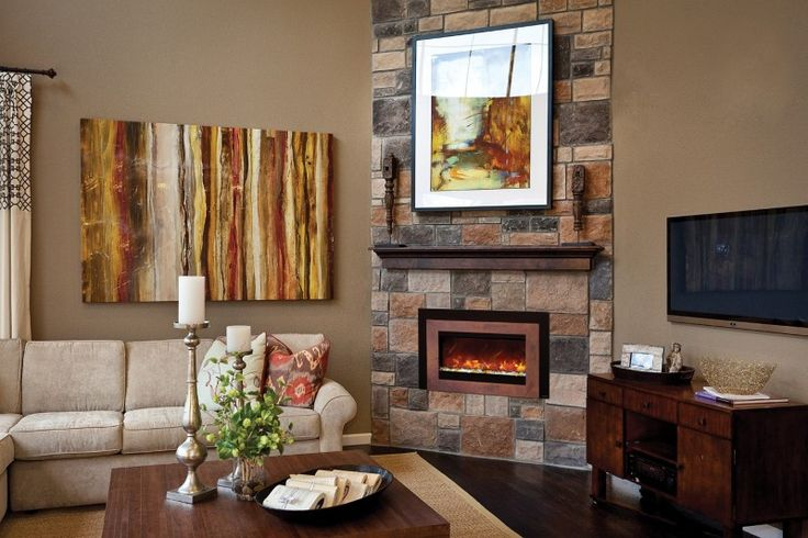 1000 Ideas About Corner Electric Fireplace On Pinterest