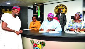 Lagos State Governor Mr. Akinwunmi Ambode on Wednesday said the state government has begun the construction of six new arts theatres as part of efforts to engage the youths and promote tourism through arts and entertainment.The governor who disclosed this while inaugurating a Board of Arts and Culture for the state said the state was also spearheading the initiatives to transform the National Museum and the iconic NationalArts Theatre into world class centers of history tourism arts and…