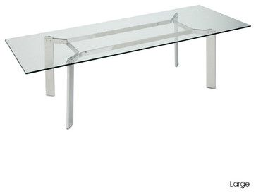 Cross dining table large modern dining tables inmod for In mod furniture