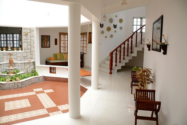 An Enchanting Home In Coimbatore Part 2 Indian Home Design Kerala House Design Chettinad House