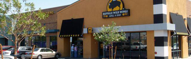 Buffalo Wild Wings in Las Vegas, NV: Believe it or not, this place is open 24 hours!