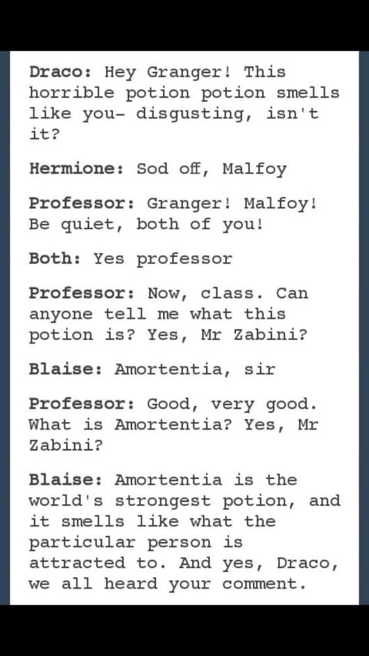 not a fan of Dramione but this his hilarious!!