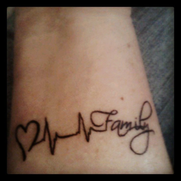 tattoo heart life family love tattoos pinterest